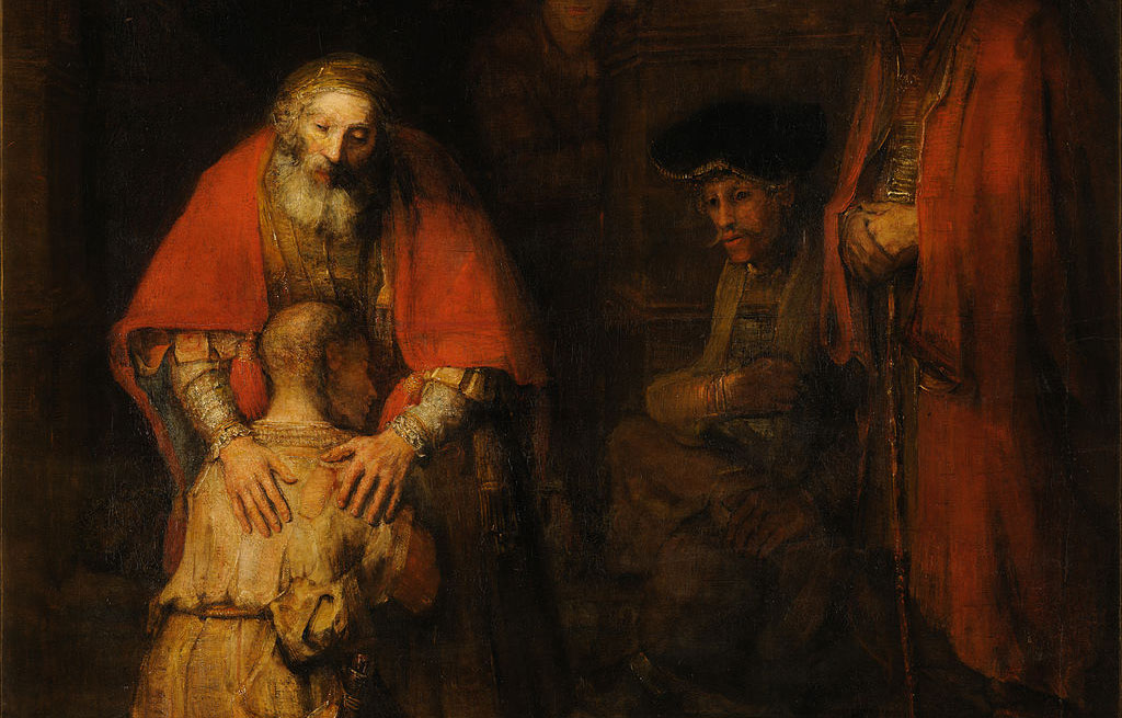 """Rembrandt's """"The Prodigal Son,"""""""